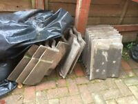Unwanted roof tiles need gone as soon as possible open to offers