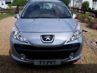 2009 Peugeot 207 Verve 1.4cc, One Pensioner Owner, 4,800 genuine miles FSH