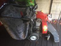 Toro self propelled 5hp vacuum blower