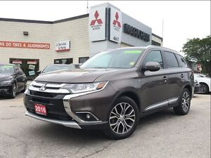 2016 Mitsubishi Outlander GT S-AWC (18 ALLOYS! BACK-UP CAM! SUNR