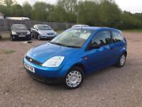 Ford Fiesta 1.2 petrol 2004 3Dr Metalic blue