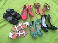Girls shoes bundle size uk 3 and uk 4 all for £10