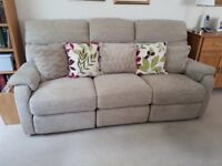 3-seater reclining sofa for sale