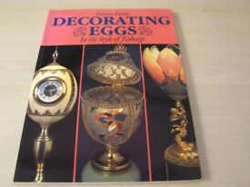 Craft Book. Decorating Eggs in the Style of Faberge