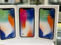 IPHONE X 🔥256GB /64GB UNLOCKED BRAND NEW CONDITION OPEN ON ALL NETWORKS APPLE WARRANTY