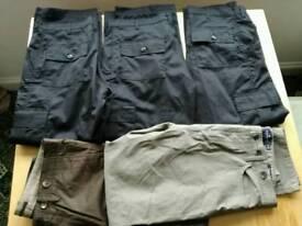 JOB LOT LADIES AND MENS CLOTHES