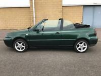 VW Golf Convertible W Reg 1800cc No Swap