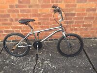BMX Bike For Sale Chrome - Needs Attention - Ideal Project bike - Old School Vintage Retro 80s