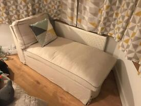 Chaise longue sofa / chair hardly used