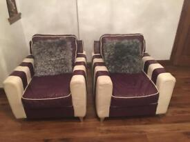 THREE PIECE SUITE (great condition) LEATHER