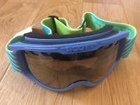 Scott Decree Electric Blue wintersport goggles