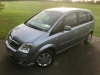 Vauxhall Meriva 1.6L 5Dr In Mint Condition! FULL SERVICE HISTORY/1 Year MOT/HPI Clear
