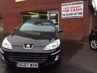 PEUGOT 407 2.7 HDI AUTOMATIC DIESEL - LOW MILEAGE
