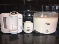 Tommee Tippee Perfect Prep Machine, Steriliser and Bottle Warmer