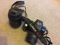 PANASONIC Linux G1 camera and 45-200mm extra lens