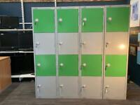 Lockers sold separately