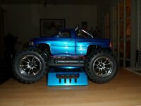 Radio controlled monster truck,high power one.