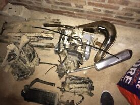 Yamaha dt 125 breaking for parts or job lot