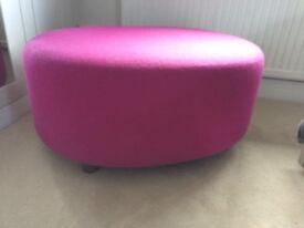 Pink Puff Chair