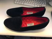 Hand Made Ladies Slippers /House Shoes Size 5