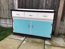 RETRO Original kitchen cupboards circa 1960's