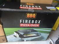 BBQ Firebox Pizza Oven with Pizza Stone and Thermometer BBQ