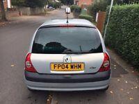 Renault CLIO '04 - 3 door - 1.2 Petrol - Silver - Part SH - Good Condition