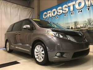 2015 Toyota Sienna Limited Premium 3.5L V6 6 Speed Automatic| He