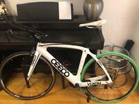 Complete Ceepo Venom Triathlon TT bike 2016 Size M