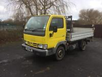 Nissan cabstar 34.10 Swb 2004 drop side tail lift full MOT ready to go to work