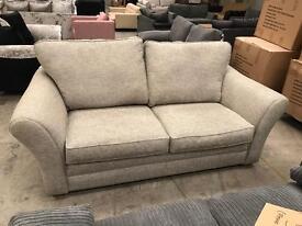 Brand new grey 3 seater sofa from Harveys