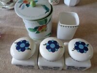 Various Kitchen Storage Jars