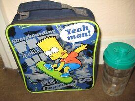 Bart Simpson Lunch Bag