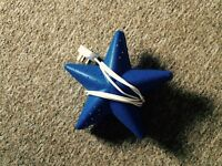 Kids ikea wall light star