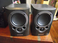 Mission M30i Bookshelf or Stand Mount Speakers – Amazing Sound