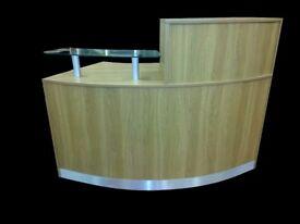 Reception Desk in Oak /Ref: 0410