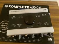 Native Instruments Komplete Audio 6 soundcard