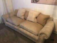 Large Cream Sofa...FREE for collection.