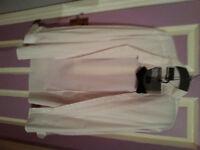 "Burton Formal Shirt + bow tie 17.5-18"""
