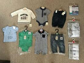 Baby Boy Clothes Bundle 3-6 Months