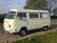 VW 1972 Type 2 Westfalia Camper