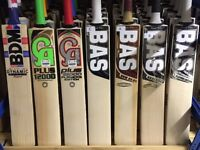 Sale All Cricket Bats From CA, SS TON, MRF, BAS Vampire, New Balance Cricket Gloves Cricket Pads