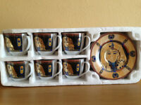 Egyptian Tea/Coffee Set of 6