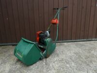 Qualcast Self Propelled Cylinder Lawnmower with Briggs and Stratton Petrol Engine