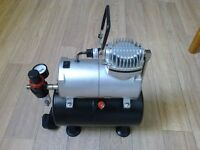 air brush compressor with air brushes