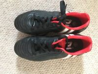 Red And Black Patrick Rugby Boots Size 4