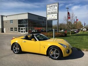 2007 Pontiac Solstice GXP ~One Owner ~260 Hp Turbo Engine