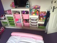 Kids IKEA storage stacker p