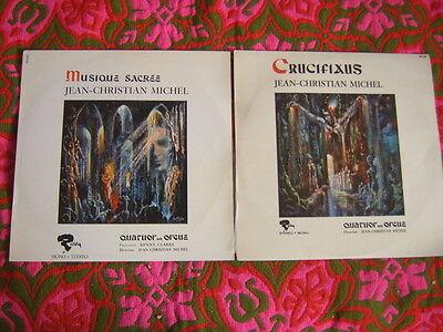 Jean Christian Michel [2 LP Vinyl] Music Sacree + Crucifixus  Orgue Orgel