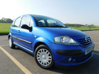 Citroen C3 1.4 i Desire 5dr in nice blue, New clutch and battery, Cheap to run and insure